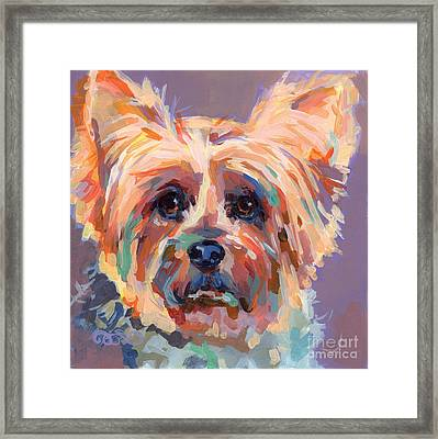 Muffin Framed Print by Kimberly Santini