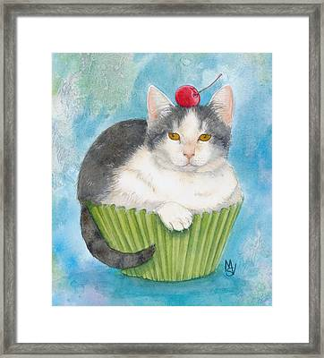 Muffin Of Animal Rescue And Foster Framed Print