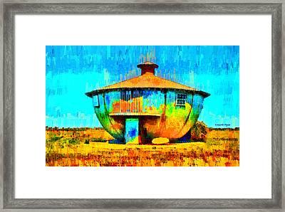Mug House - Da Framed Print by Leonardo Digenio