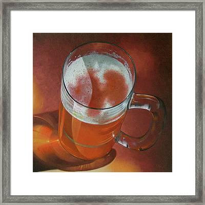 Mug Of Beer Framed Print
