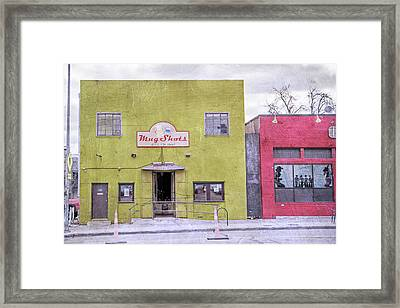 Mug Shots Austin Texas Framed Print