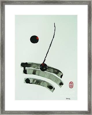 Muga No Genri Framed Print