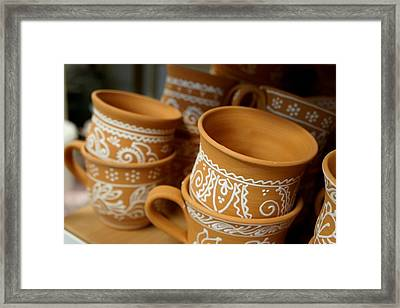 Mugs Framed Print