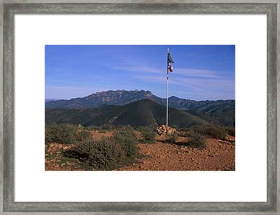 Mugu Peak Framed Print by Soli Deo Gloria Wilderness And Wildlife Photography