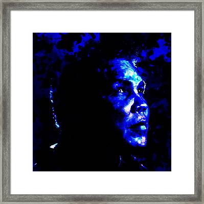 Muhammad Ali 01a Framed Print by Brian Reaves