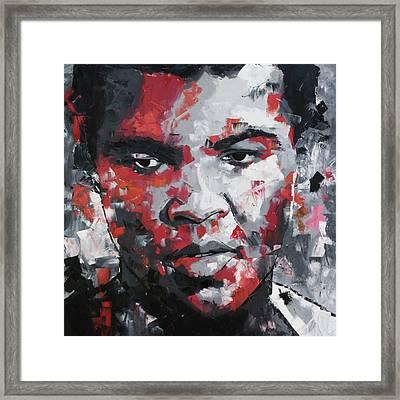 Muhammad Ali II Framed Print by Richard Day