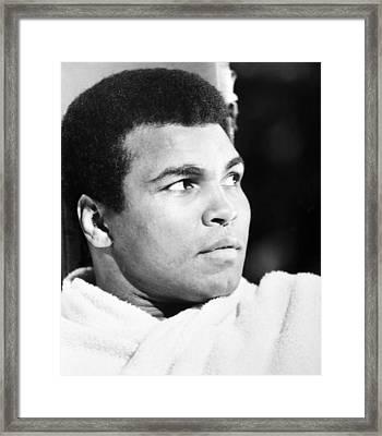 Muhammed Ali (b. 1942) Framed Print by Granger