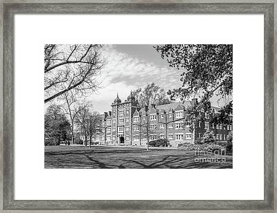 Muhlenberg College East Hall Framed Print by University Icons