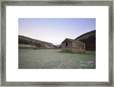 Muker Pre Dawn Framed Print by Nichola Denny