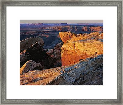Muley Point Sunrise Framed Print