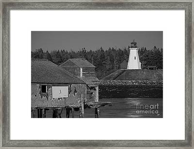 Mulholland Lighthouse  Framed Print by Alana Ranney