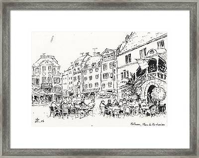 Mulhouse  Framed Print by Abdellatif Zeraidi