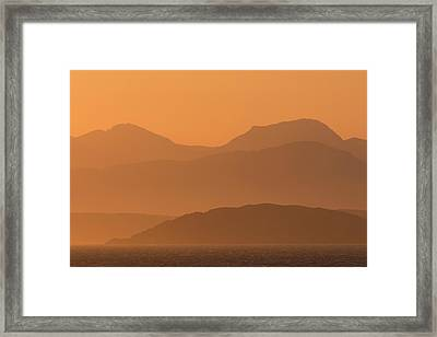 Mull Sunrise Framed Print