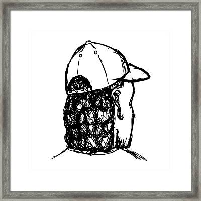 Mullet Framed Print