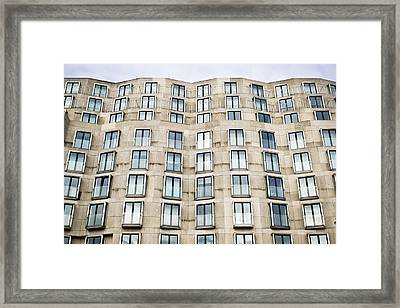 Multi-storey Building Framed Print by Tom Gowanlock