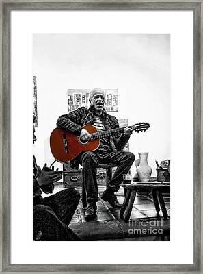 Multi-talented Artist Framed Print by Al Bourassa
