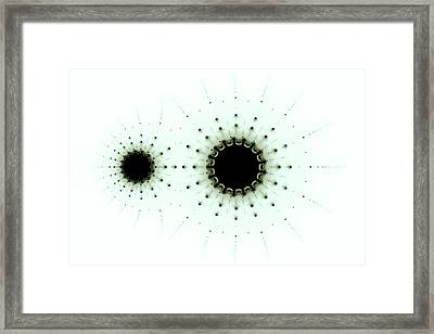 Multibrot Multicorn Framed Print by Mark Eggleston