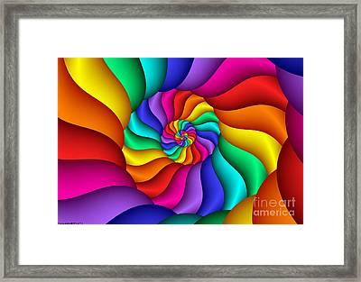 Multichrome 15  Framed Print