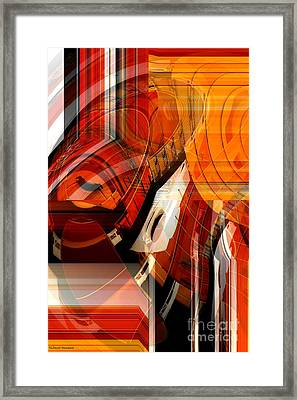 Multidimensional  Framed Print