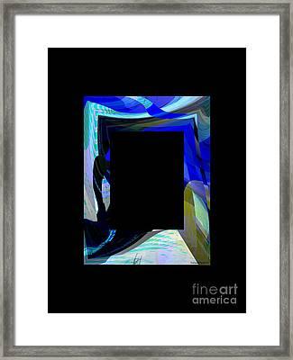Multidimension Framed Print by Thibault Toussaint