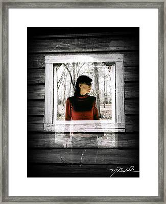 Multiple Layers Framed Print by Melissa Wyatt