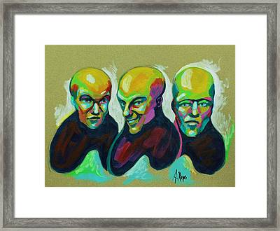 Multiple Personality Framed Print