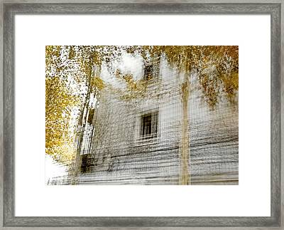 Framed Print featuring the photograph Multiplex Fall by Linde Townsend