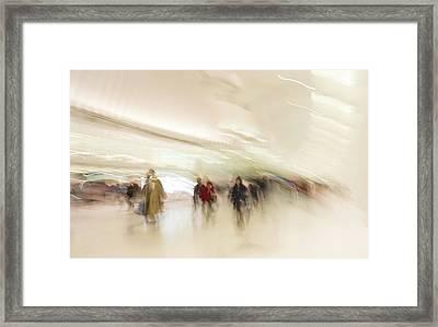 Multitudes Framed Print