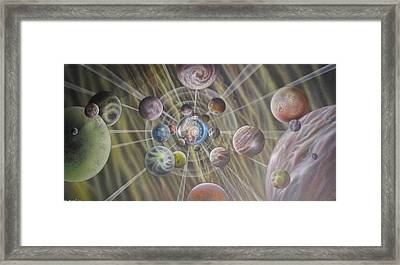 Multiverse 582 Framed Print by Sam Del Russi