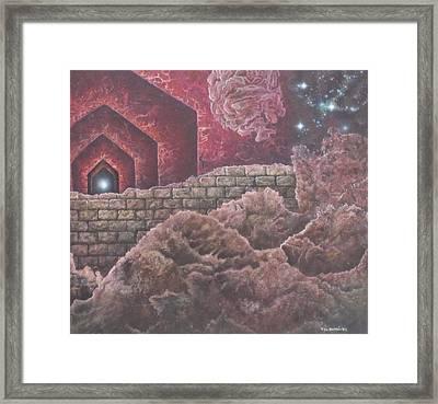 Multiverse 585 Framed Print by Sam Del Russi