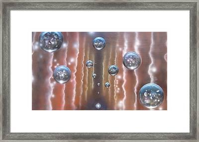 Multiverse 589 Framed Print by Sam Del Russi