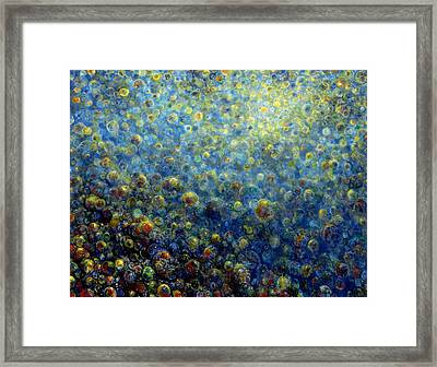 Multiverse Framed Print by De Es Schwertberger