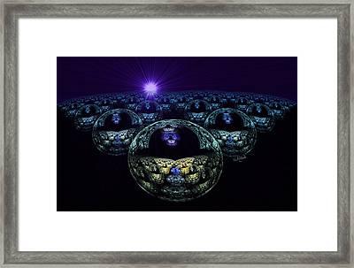 Multiverse Framed Print