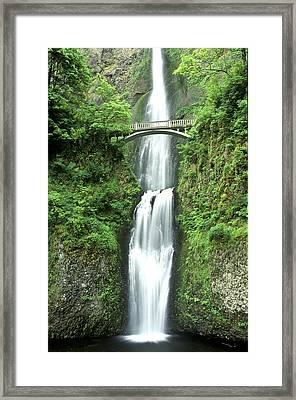 Multnoma Falls Framed Print