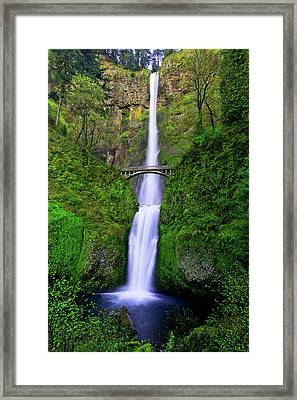 Multnomah Dream Framed Print by Chad Dutson