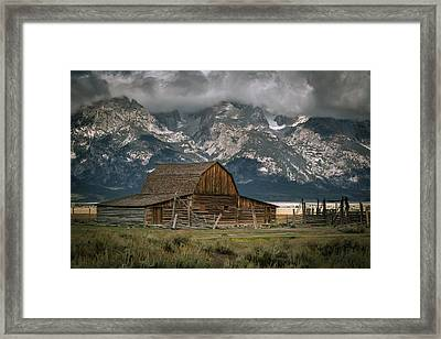 Multon Barn Framed Print