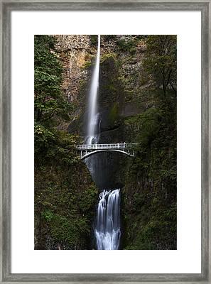Multonomah Falls Framed Print