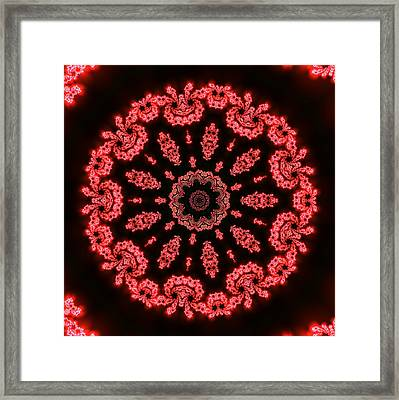 Framed Print featuring the digital art Muluc 9 by Robert Thalmeier