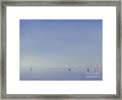 Mumbai Harbour Framed Print