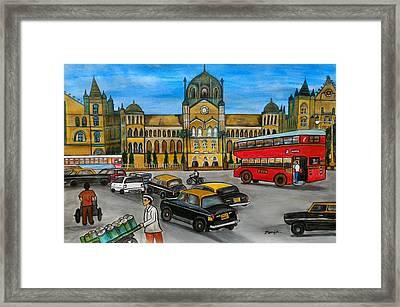 Mumbai Meri Jaan Framed Print