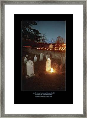 Mumma Cemetery And Farm 96 Framed Print by Judi Quelland