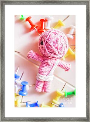 Mummy Voodoo Framed Print by Jorgo Photography - Wall Art Gallery