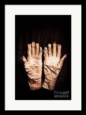 Gestures Photographs Framed Prints