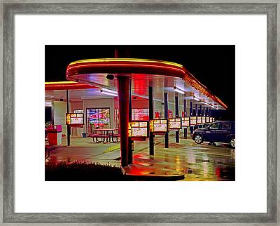 Munfordville Sonic Drive-in Framed Print