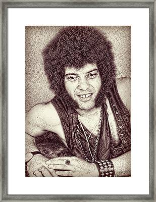 Mungo Jerry Portrait - Drawing Framed Print