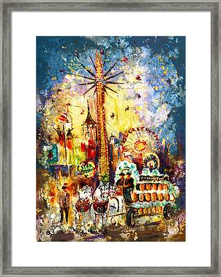 Munich Authentic Madness Framed Print
