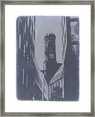 Munich Frauenkirche Framed Print by Naxart Studio