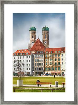 Munich Impression IIi Framed Print by Juergen Klust