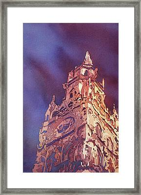 Munich Rathaus Framed Print by Jenny Armitage