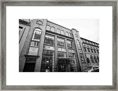 municipal school for jewellers and silversmiths Birmingham UK Framed Print